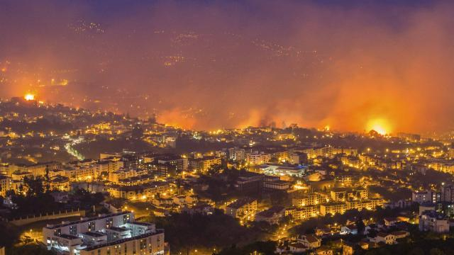 Incendies au Portugal et en Espagne qui causent  45 morts