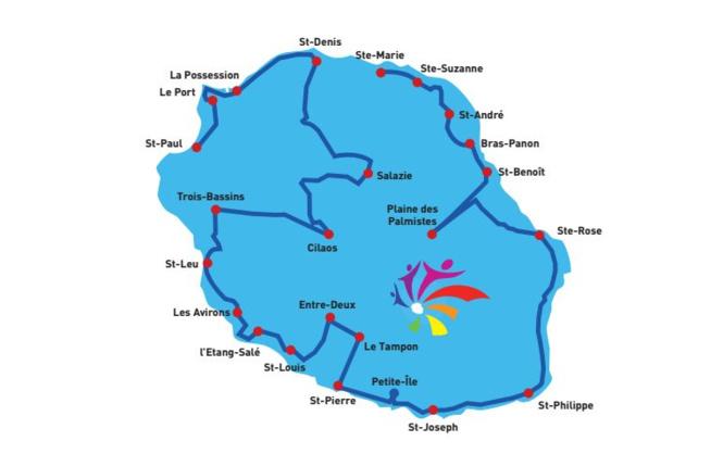Jeux des îles : La flamme olympique est arrivée dans l'île