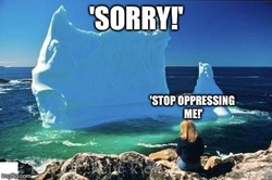 Stop oppressing me!