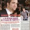 Robert Pattinson dans Ciné-télé revue