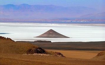 Une pyramide cérémoniale d'avant les Incas ...