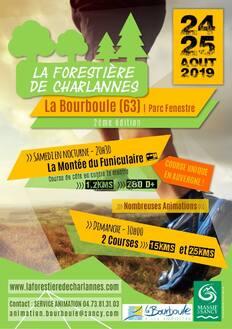 La Forestière de Charlannes - La Bourboule (63) - Dimanche 25 août 2019