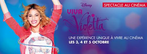 Violetta 3 passe au cinéma