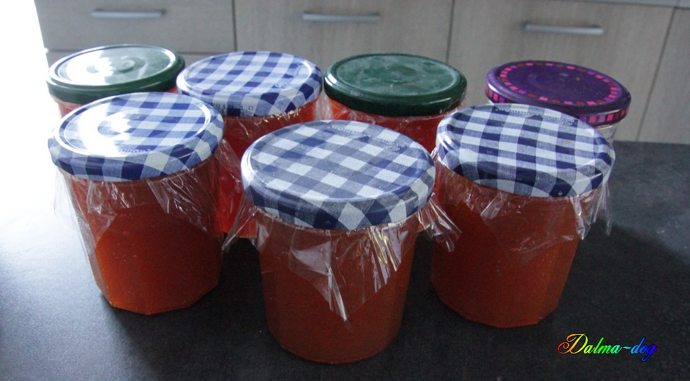 confiture de figue et confiture de melon