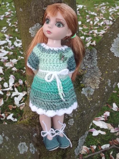 La robe verte de Vassilia