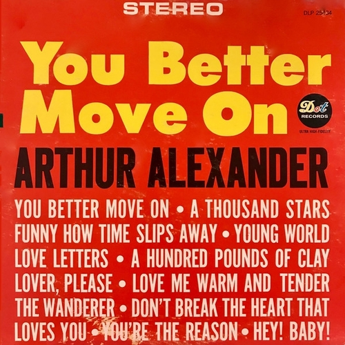 "Arthur Alexander : Album "" You Better Move On "" Dot Records DLP 25434 [ US ]"