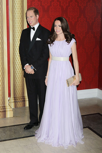 Kate et William en cire (suite)