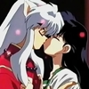 InuYasha Kagome Kiss from Movie.Jpg