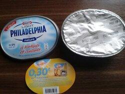Je tartine avec Philadelphia