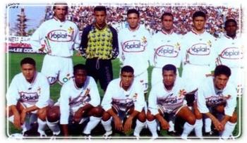 LAZIZI TAREK avec le stade Tunisien 1996-1998