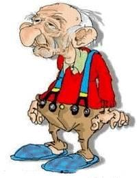 Papy Nanard 92 ans chez le médecin /et les mauvaises interprétations ....