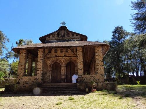 l'église orthodoxe de Dbré Birhan Sélassié
