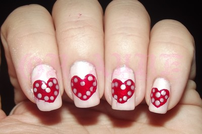 •°•.Sunday Nail Battle : Will you be my Valentine ?.•°•