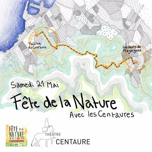 Fête de la nature avec les Centaures le 21-05-2016