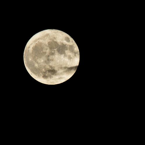 'la lune du siècle' à ma façon