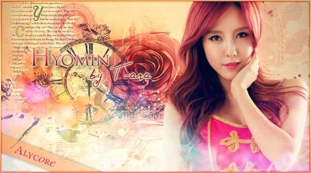 Hyomin by T-ara