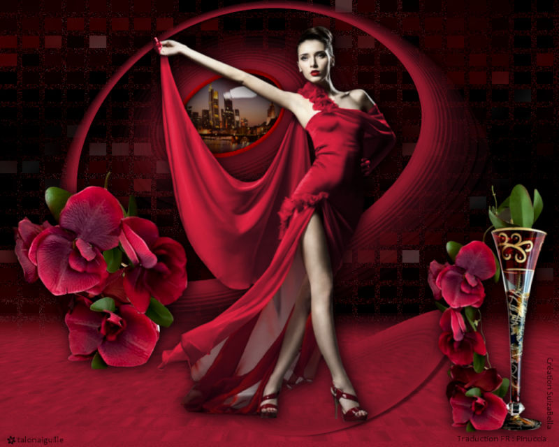*** Lady in Red ***