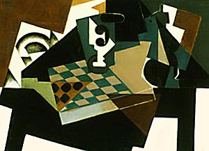 Gris,+Tablero+de+ajedrez+1917