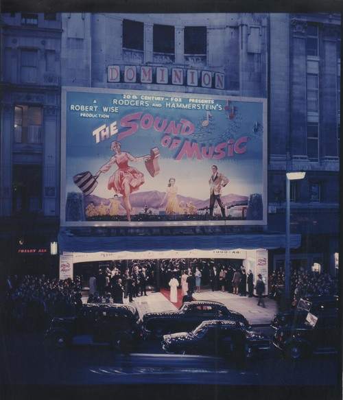 THE SOUND OF MUSIC BOX OFFICE UK 1965