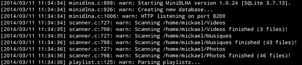 Configurer un serveur multimédia avec ReadyMedia