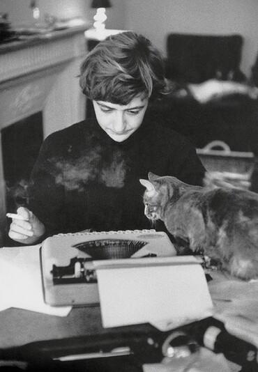 Des écrivains et leur(s)  chat(s)