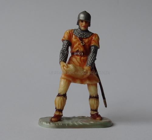 Réf: 8836 Normand portant une pierre pour les engins de siège