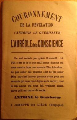 Couronnement de la Révélation d'Antoine le Guérisseur #1