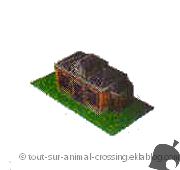mairie - animal crossing DS