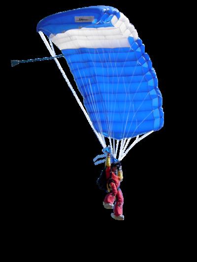 Tube parachutiste