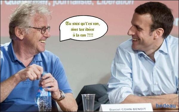 Merci, Macron !
