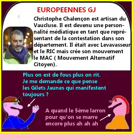Déjà quatre candidats Gilets Jaunes pour les européennes ?