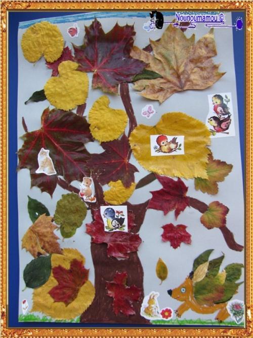 Vive l'automne et les si jolies feuilles