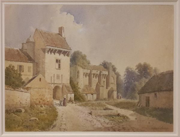 Le château d'Armentières-sur-Ourcq par Baraquin