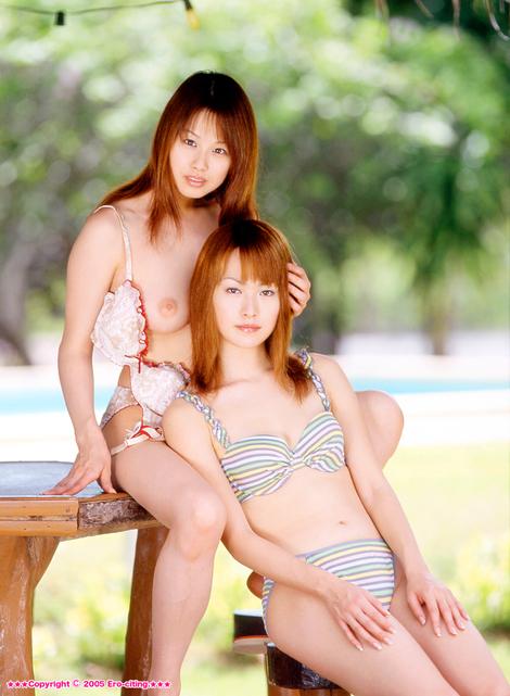WEB Gravure : ( [X-City - Ero-citing] -   2005 No.02   Misa Nishida/西田美沙 & Mimi Matsuda/松田みみ )