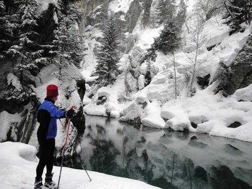 - Janvier :  Belote  et Ski de fond, beau programme  !!