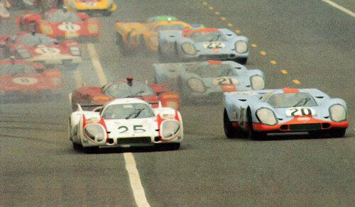 Porsche le Mans 1970