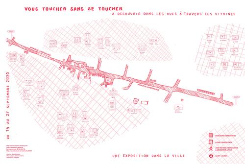 VOUS TOUCHER SANS SE TOUCHER exposition des ateliers dans la ville de St-Loubès