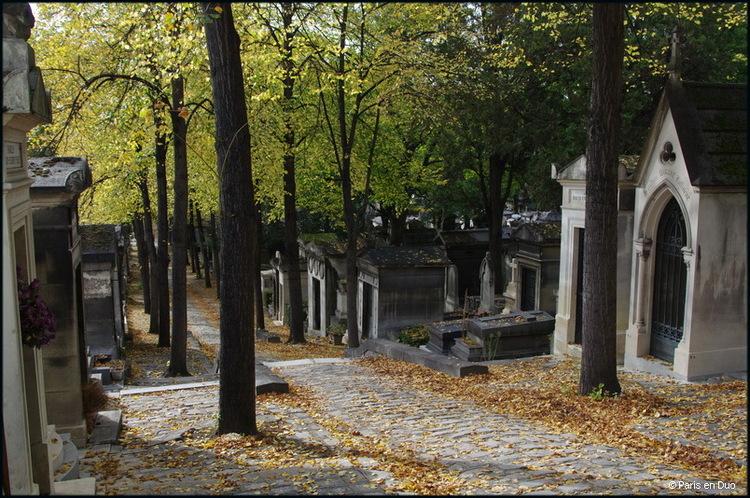 Promenade d'automne au Père-Lachaise