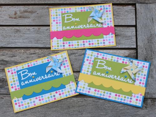 Cartes : Des cartes d'anniversaire !