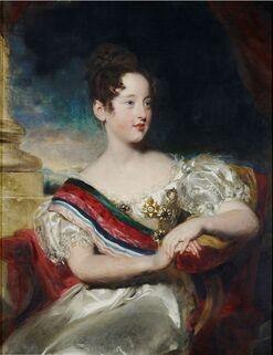 La reine Marie II