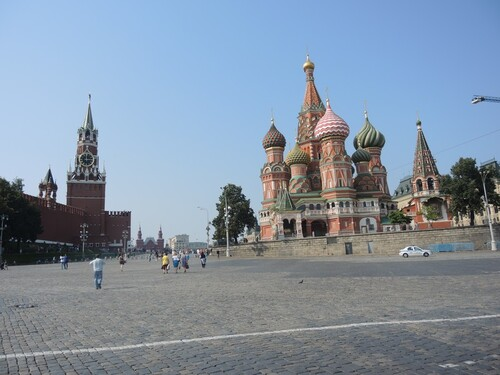 Croisière Russie- Jour 8- MOSCOU - suite3- En route vers la Place Rouge