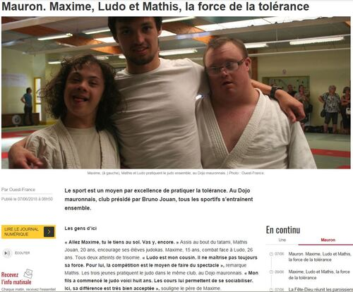 INTERCLUBS DOJO MAURONNAIS