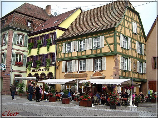 ALSACE JUIN 2010 RIBEAUVILLE PLACE