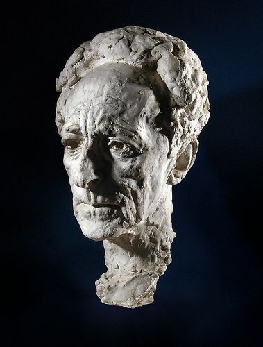 Jean Cocteau by by Arno Breker (German 1900-1991):