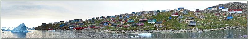 Derniers panoramas sur Kullorsuaq vu de l'Austral - Groenland
