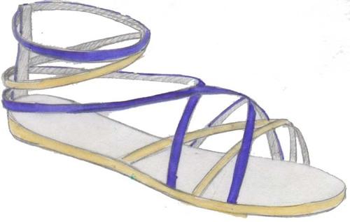sandals, sandales