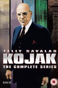 KOJAK (1973 - 1990) : Dans les années 70 à New York, le Lieutenant de Police Théo Kojak mène ses enquêtes, la sucette toujours à la bouche. ... ----- ... Nombre de saison(s) : 5 Nombre d'épisode(s) : 118 Origine : U.S.A. Réalisateur : Abby Mann, Matthew Rapf Acteurs : Telly Savalas, Kevin Dobson, Dan Frazer, George Savalas, Vince Conti Genre : Drame, Policier Durée : 48 Année de commencement : 1973 Année de fin : 1990 Titre original : Kojak Critiques Spectateurs :  2.8
