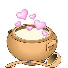 Pour ce soir : pourquoi pas une grosse soupe d' amour ?
