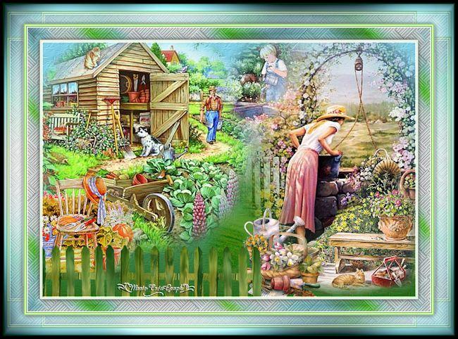 Au jardin...
