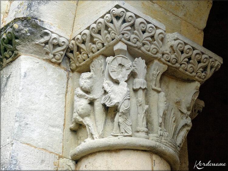 Abside principale (Abbaye de la Sauve Majeure)